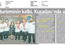 Türk Turizminin Kalbi, Kuşadası'nda Atacak.